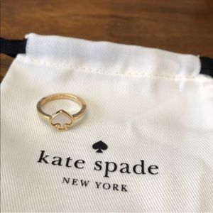 💎 Kate Spade Mother of Pearl Ring Size 7 NWOT